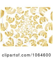 Clipart Vortex Of 3d Euros Royalty Free Vector Illustration by Andrei Marincas