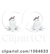 Clipart 3d People With Gear Heads Royalty Free Vector Illustration by Andrei Marincas