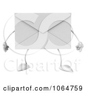 Clipart 3d Envelope Royalty Free CGI Illustration