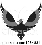 Clipart Eagle 15 Royalty Free Vector Illustration
