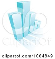 Clipart Bar Graph 7 Royalty Free Vector Illustration