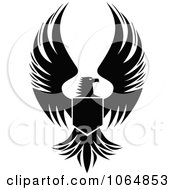 Clipart Eagle 9 Royalty Free Vector Illustration