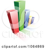 Clipart Bar Graph 6 Royalty Free Vector Illustration