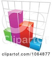 Clipart Bar Graph 5 Royalty Free Vector Illustration