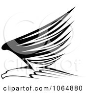 Clipart Eagle 7 Royalty Free Vector Illustration