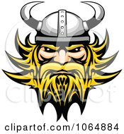 Clipart Tough Viking Royalty Free Vector Illustration by Vector Tradition SM