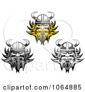 Clipart Tough Vikings Royalty Free Vector Illustration by Vector Tradition SM