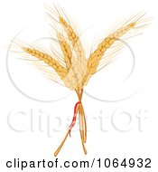 Clipart Stalks Of Grains Royalty Free Vector Illustration