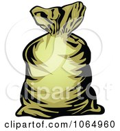 Clipart Money Bag 1 Royalty Free Vector Illustration by Vector Tradition SM