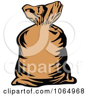 Clipart Money Bag 2 Royalty Free Vector Illustration by Vector Tradition SM