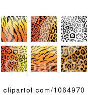 Clipart Jungle Animal Prints 1 Royalty Free Vector Illustration by Vector Tradition SM