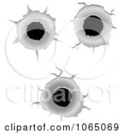 Royalty-Free (RF) Clipart of Bullet Holes, Illustrations, Vector ...