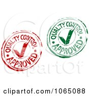 Quality Control Approved Stamps