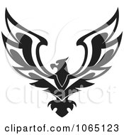 Clipart Eagle 4 Royalty Free Vector Illustration by Vector Tradition SM #COLLC1065123-0169