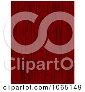 Clipart Red Wood Background Royalty Free Vector Illustration by Vector Tradition SM