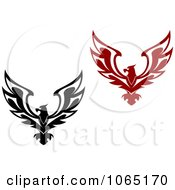 Clipart Eagles Collage 3 Royalty Free Vector Illustration