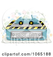 Clipart Best Dad Car Cake Royalty Free Vector Illustration by BNP Design Studio