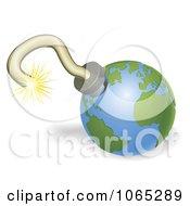 3d Globe Bomb