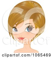 Woman With Dirty Blond Hair In A Bob Cut 3