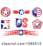 Clipart Patriotic American Elements 4 Royalty Free Vector Illustration by Vector Tradition SM