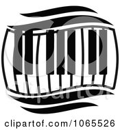 Clipart Keyboard 1 Royalty Free Vector Illustration