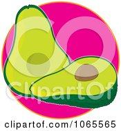 Avocado On Pinke Logo
