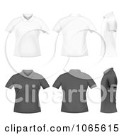 White And Black Polo Shirts