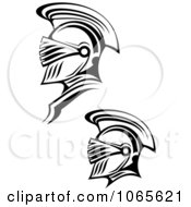 Clipart Roman Soldiers 5 Royalty Free Vector Illustration