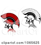 Clipart Roman Soldiers 2 Royalty Free Vector Illustration