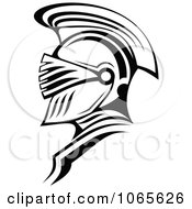 Clipart Roman Soldier And Helmet 8 Royalty Free Vector Illustration by Vector Tradition SM