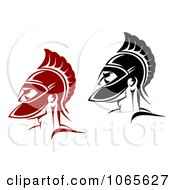 Clipart Roman Soldiers 3 Royalty Free Vector Illustration