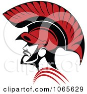 Clipart Roman Soldier And Helmet 2 Royalty Free Vector Illustration by Vector Tradition SM