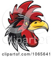 Clipart Tough Rooster 3 Royalty Free Vector Illustration by Vector Tradition SM #COLLC1065641-0169