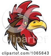 Clipart Tough Rooster 7 Royalty Free Vector Illustration