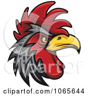 Clipart Tough Rooster 4 Royalty Free Vector Illustration by Seamartini Graphics