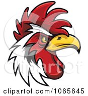 Clipart Tough Rooster 5 Royalty Free Vector Illustration by Vector Tradition SM #COLLC1065645-0169