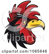 Clipart Tough Rooster 6 Royalty Free Vector Illustration