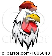Clipart Tough Rooster 1 Royalty Free Vector Illustration