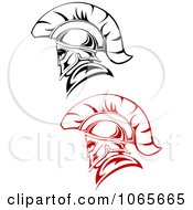 Clipart Roman Soldiers 1 Royalty Free Vector Illustration
