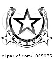 Clipart Horseshoe Icon 4 Royalty Free Vector Illustration