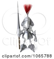 3d Knight Facing Front