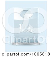 Clipart 3d First Place Award Royalty Free Vector Illustration by michaeltravers