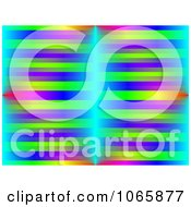 Clipart Background Of Vibrant Lines Royalty Free Illustration