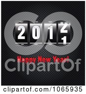 Clipart Happy New Year 2012 Ticker Royalty Free Vector Illustration