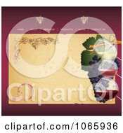 Clipart Winery Website Template 1 Royalty Free Vector Illustration by Eugene
