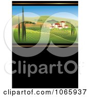 Clipart Italian Winery Royalty Free Vector Illustration by Eugene