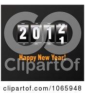 2012 Happy New Year Ticker