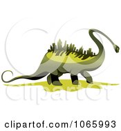 Dinosaur With A Skyscraper Spine