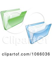 Clipart Transparent File Folders And Documents Royalty Free Vector Illustration by Vector Tradition SM