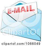 Clipart Email Envelope Royalty Free Vector Illustration